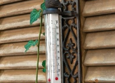 Thermometers en Regenmeters