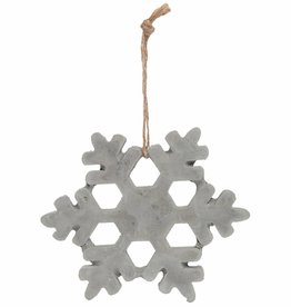 Clayre & Eef Hanger Sneeuwvlok