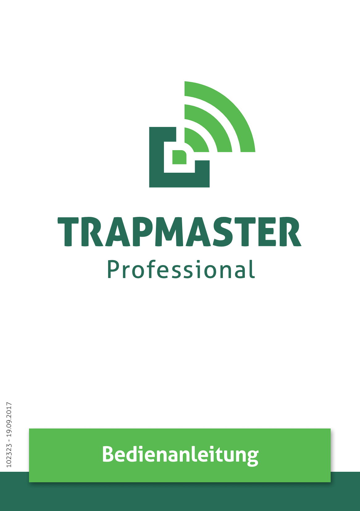Bedienanleitung TRAPMASTER Professional