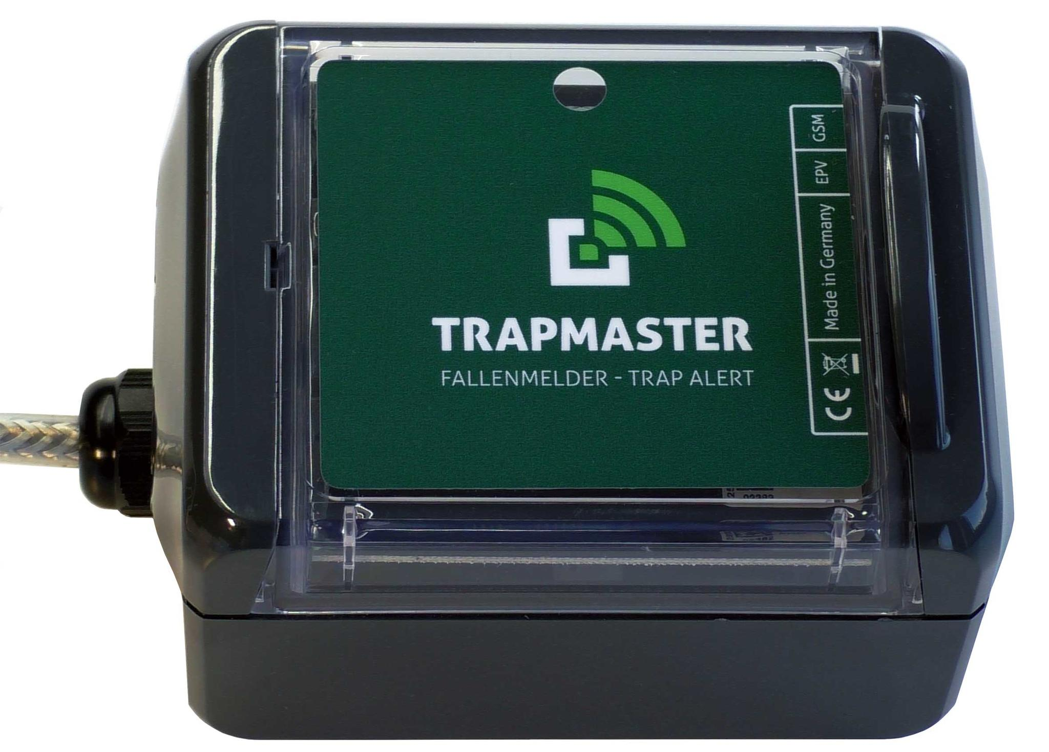 TRAPMASTER trap alert system