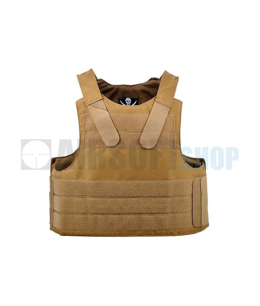 Invader Gear PECA Body Armor Vest (Coyote Brown)