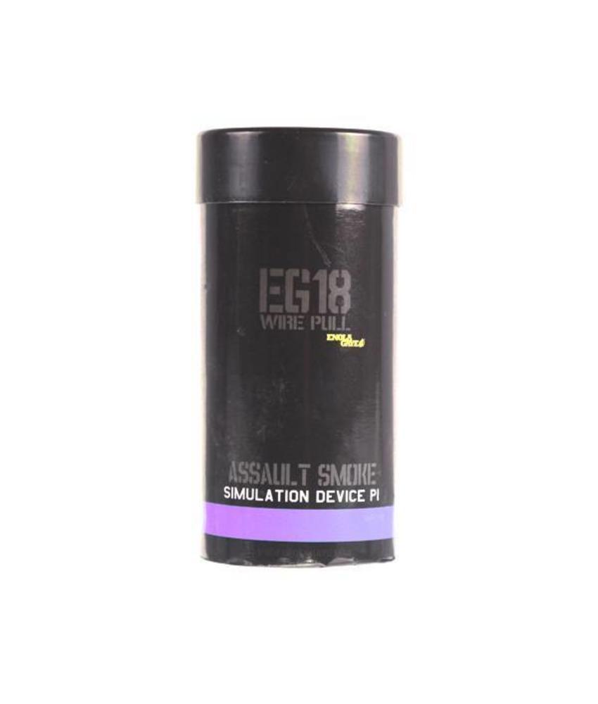 Enola Gaye EG18 High Output Purple Smoke