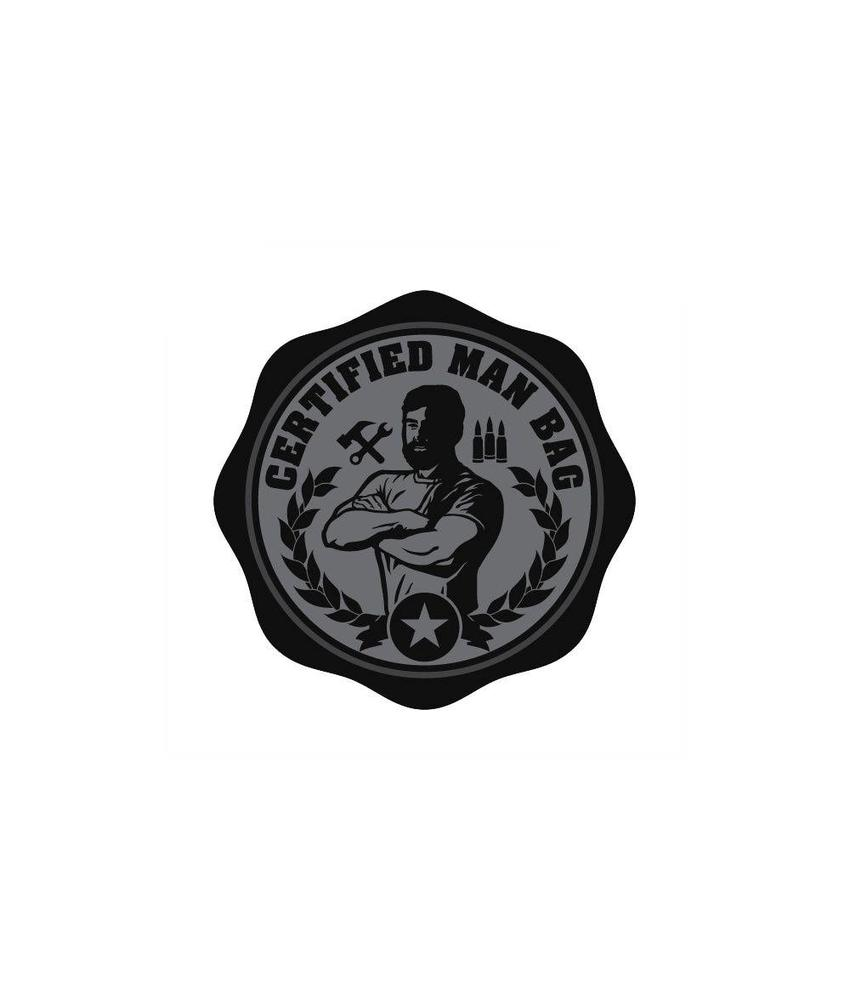 MIL-SPEC MONKEY Certified Man Bag PVC Patch