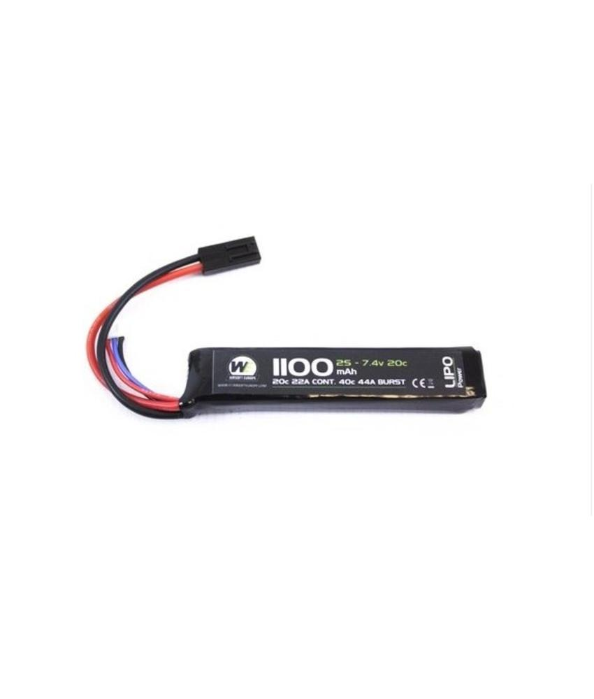 Batteries Airsoftshop Europe Work With Prolux Lipo Charger This Balancer Can Be Used To 2 3 Nuprol 74v 1100mah 20c Stick Type