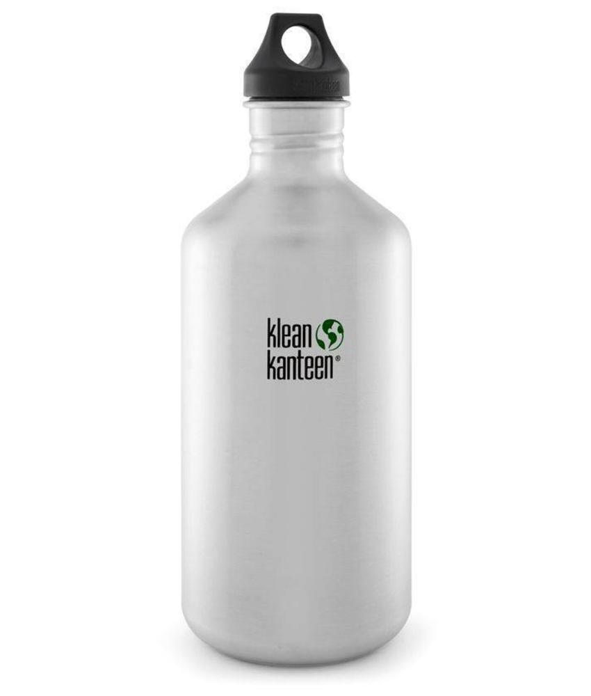 Klean Kanteen Classic 1.9L Drinkfles (Brushed Stainless)