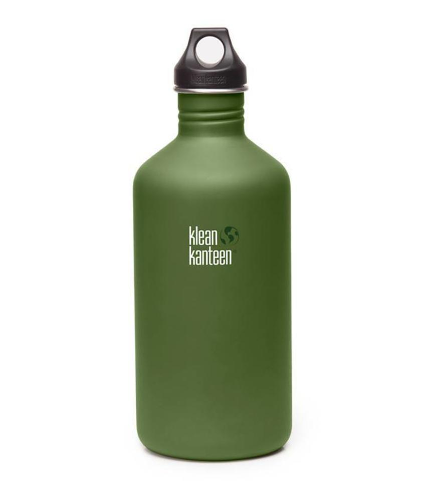 Klean Kanteen Classic 1.9L Drinkfles (Green Fatigue)