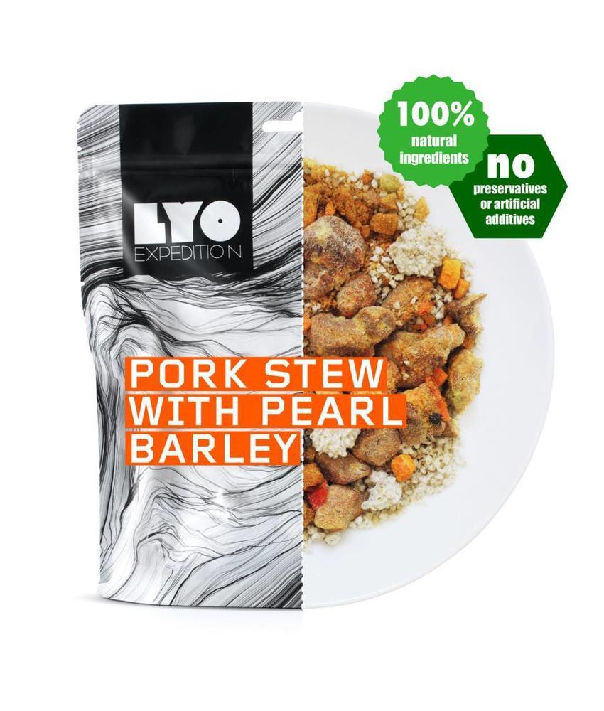 LYO FOOD Pork Stew with Pearl Barley