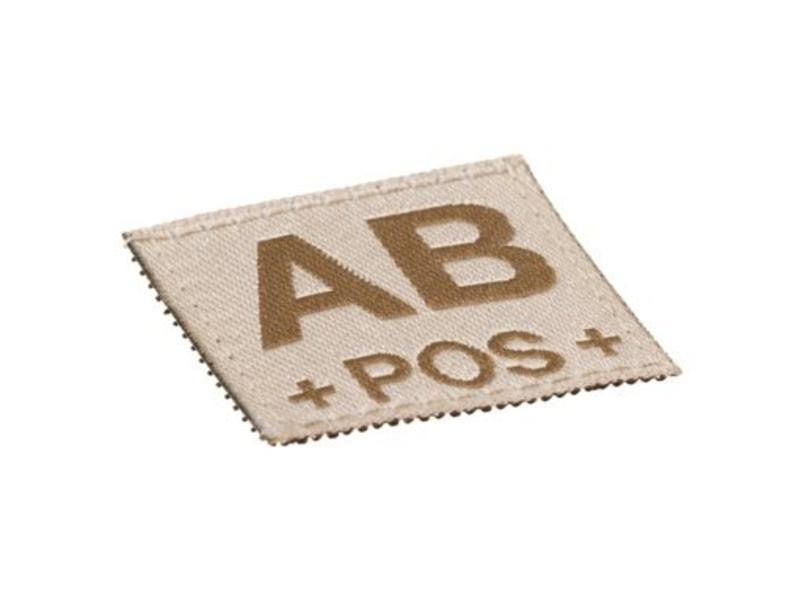 Claw Gear AB POS Bloodgroup Patch (Desert)
