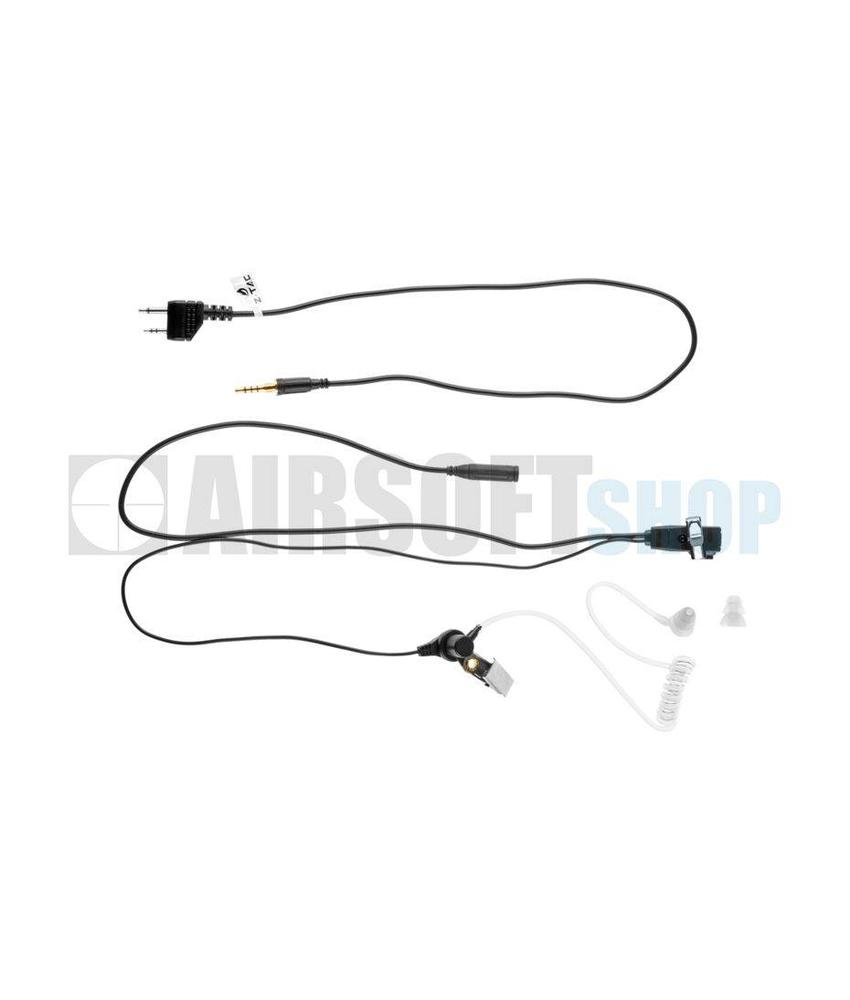 Z-Tactical FBI Style Headset (Midland Connector)