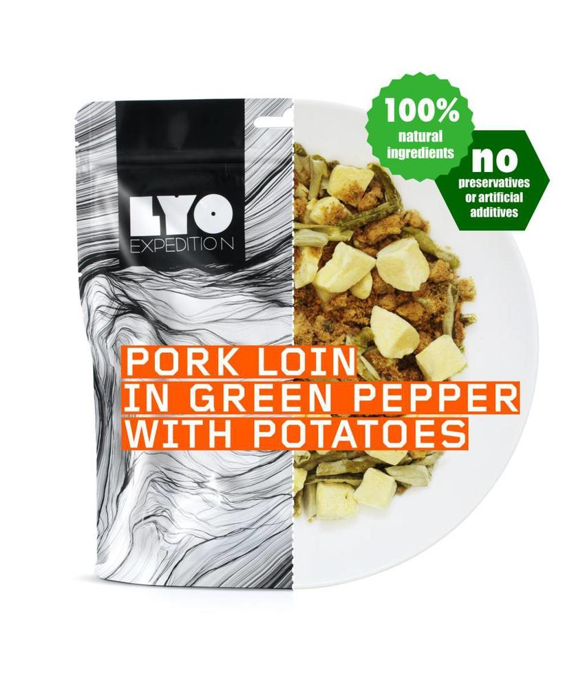 LYO FOOD Pork Loin in Green Pepper with Potatoes