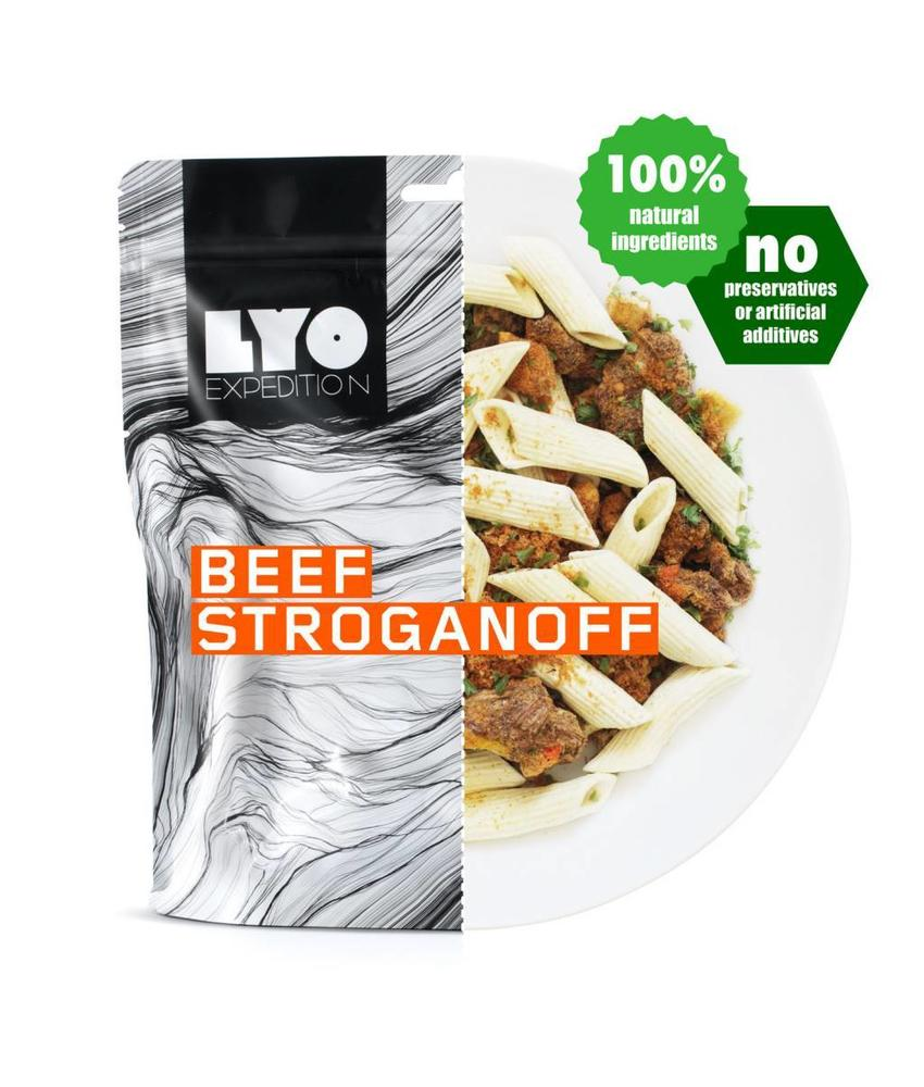 LYO FOOD Beef Stroganoff