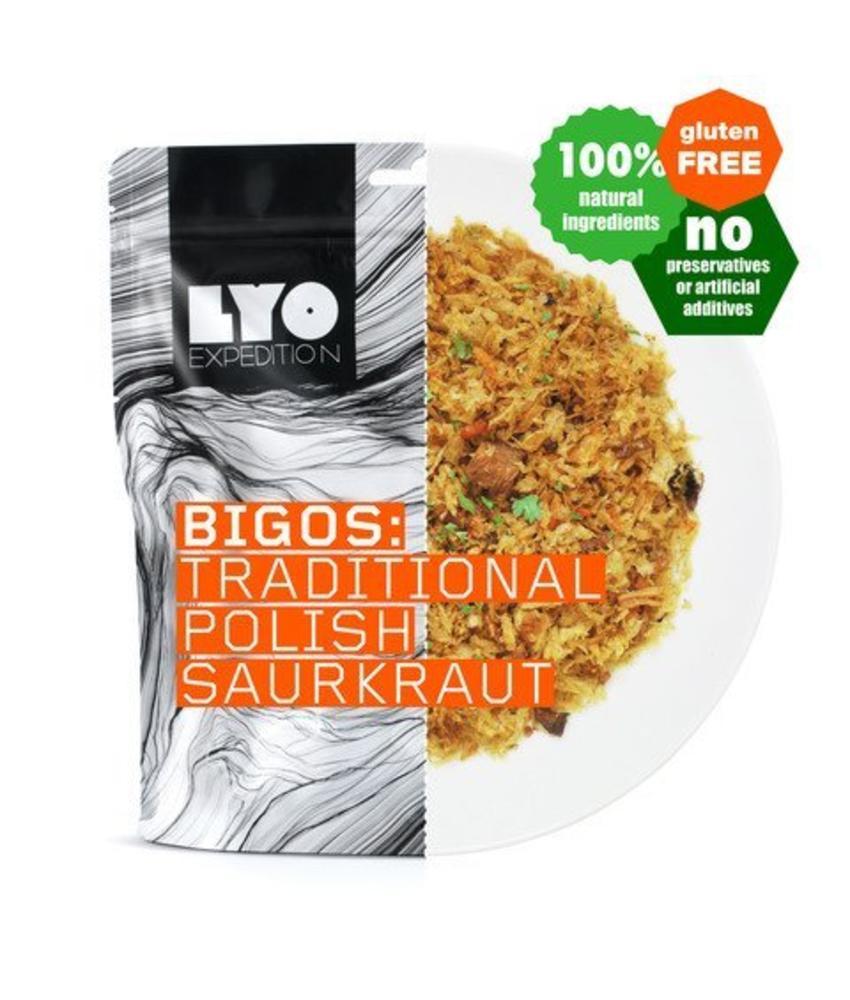 LYO FOOD Bigos: Traditional Polish Saurkraut
