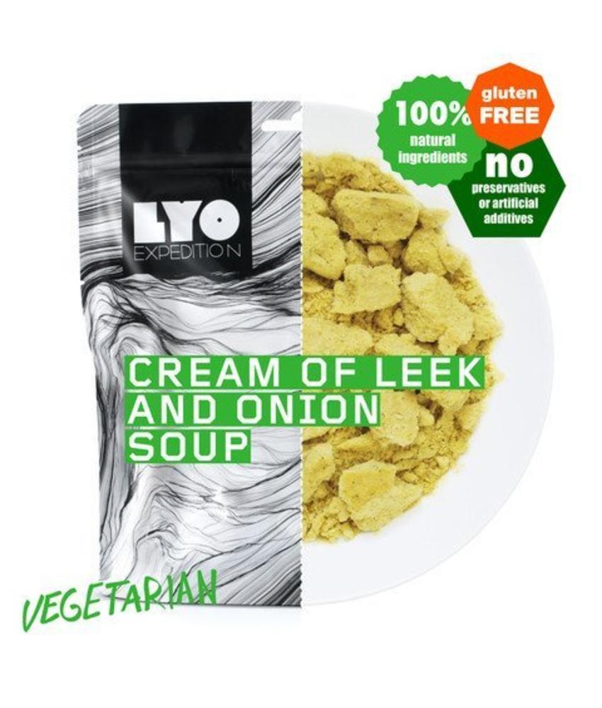 LYO FOOD Cream of Leek and Onion Soup