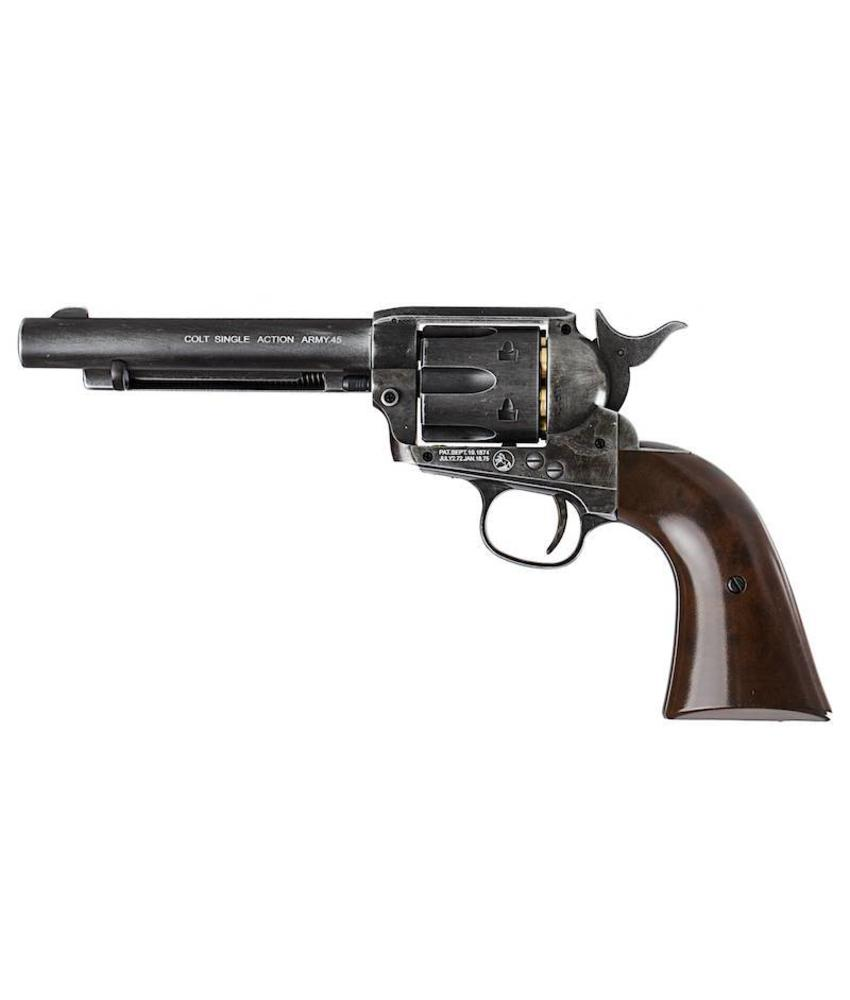Umarex SAA .45 CO2 Revolver (Antique Black)