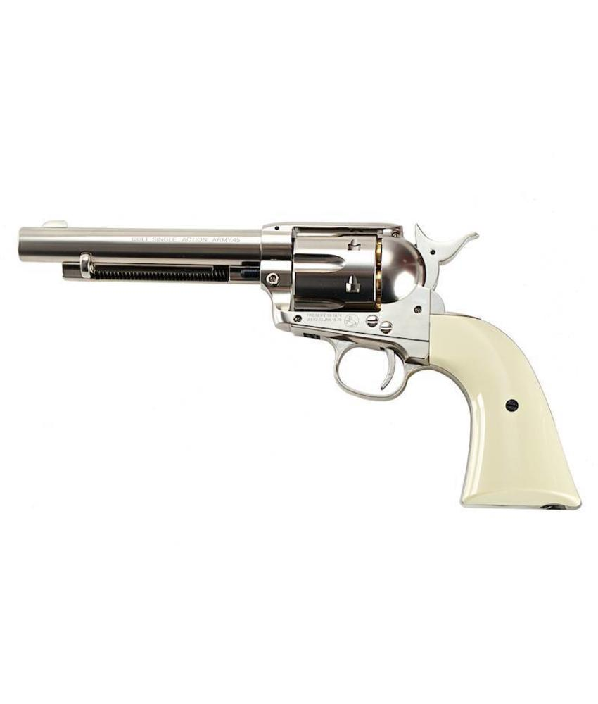 Umarex SAA .45 CO2 Revolver (Nickel Pearl)