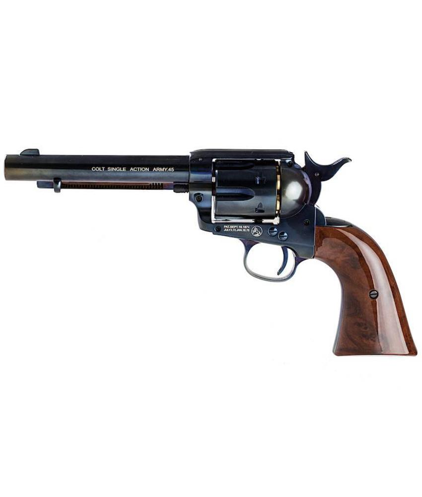 Umarex SAA .45 CO2 Revolver (Blue / Brown)