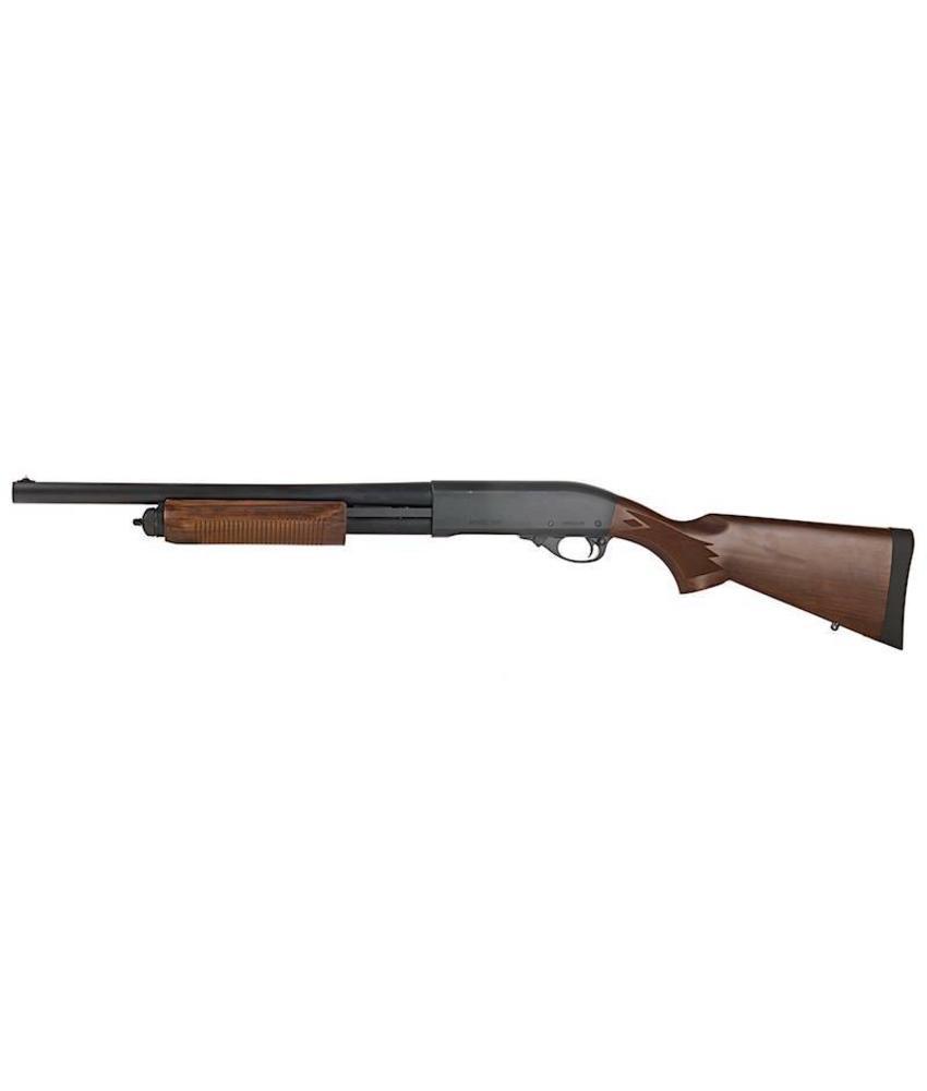 Tokyo Marui M870 Tactical Gas Shotgun (Wood Stock Type)