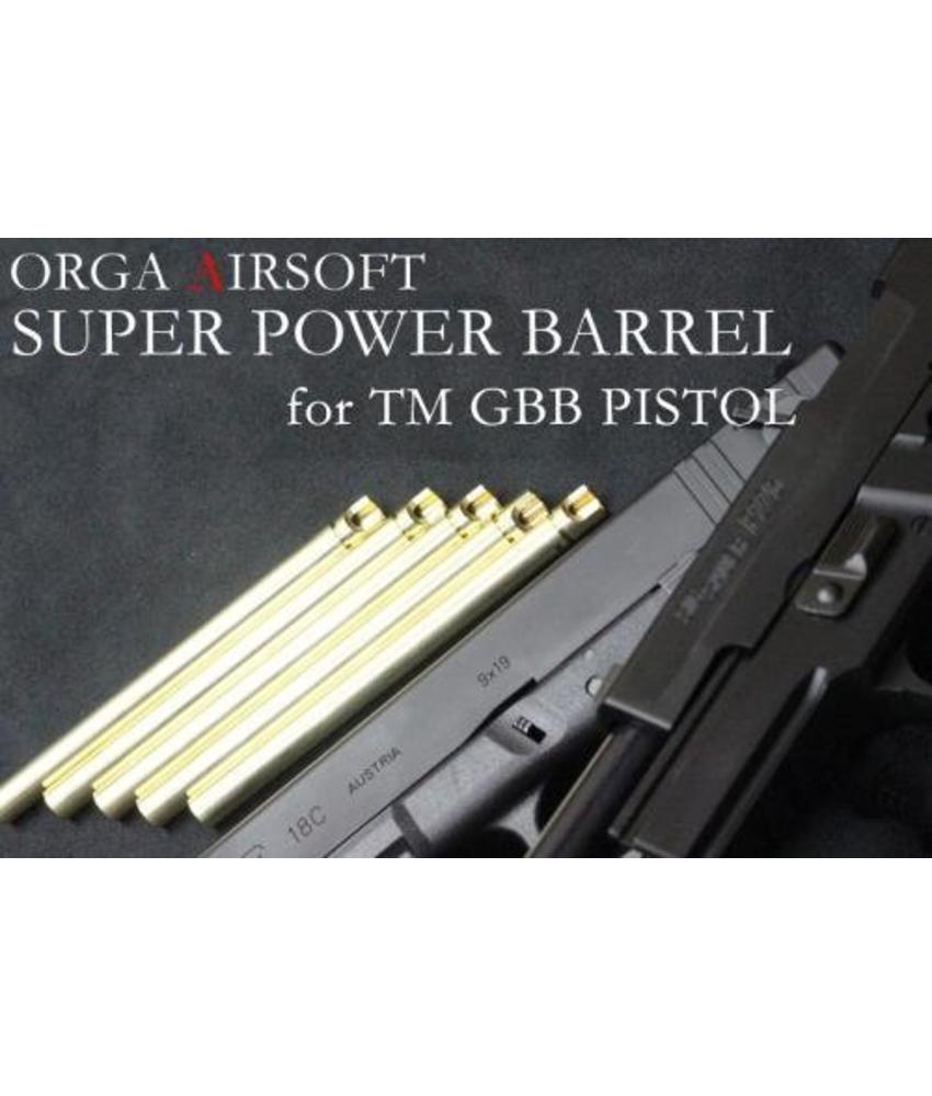Orga Super Power 6.00mm Pistol Barrel (Hi-Capa 4.3)