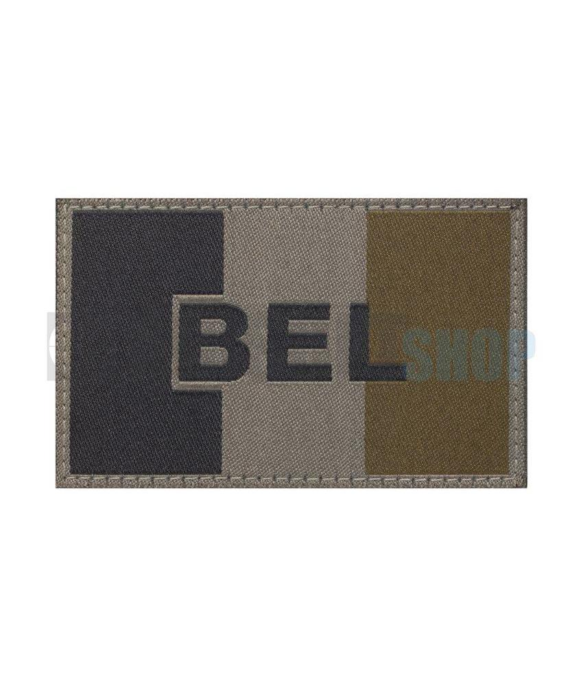 Claw Gear Belgische Vlag Patch (RAL7013)