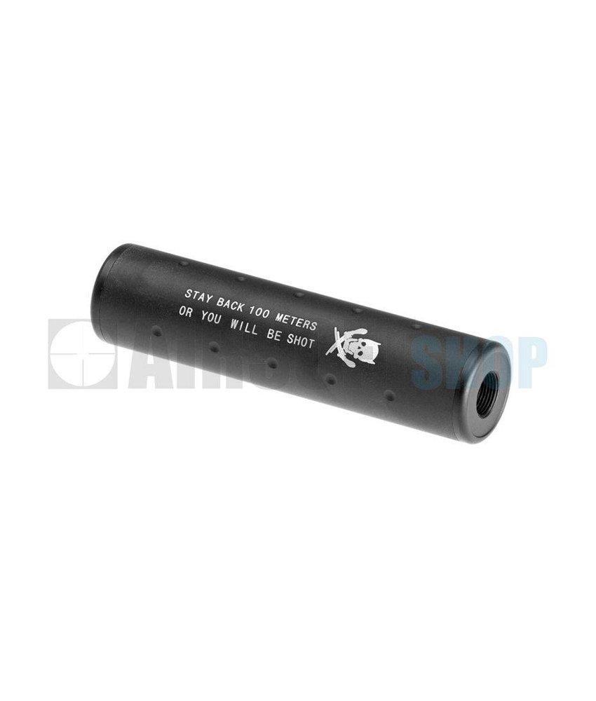 Pirate Arms 130x35 Stubby Silencer CW/CCW (Black)