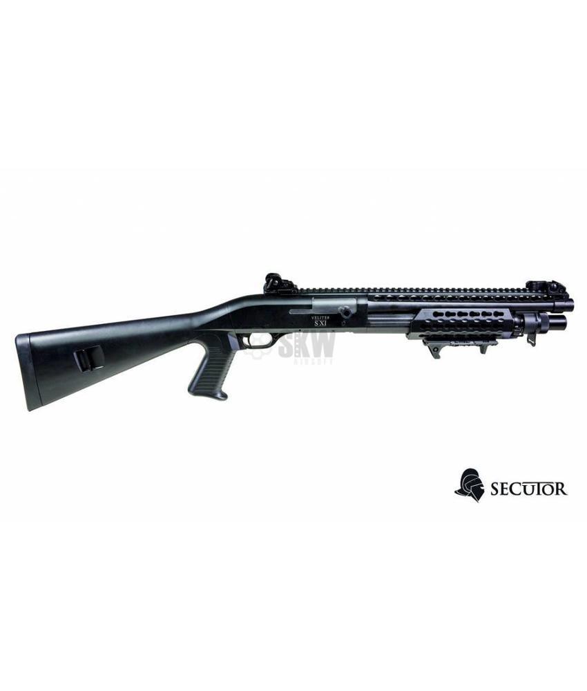 Secutor Velites S-XI Spring Shotgun (Black)