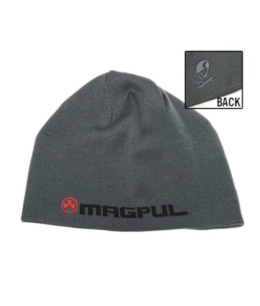 Magpul Logotext Skull Beanie (Grey)
