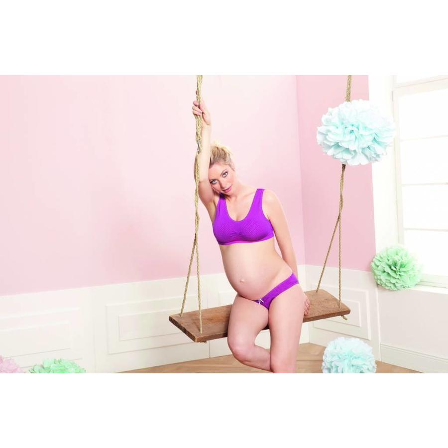 Zwangerschapsbh hot pink-1