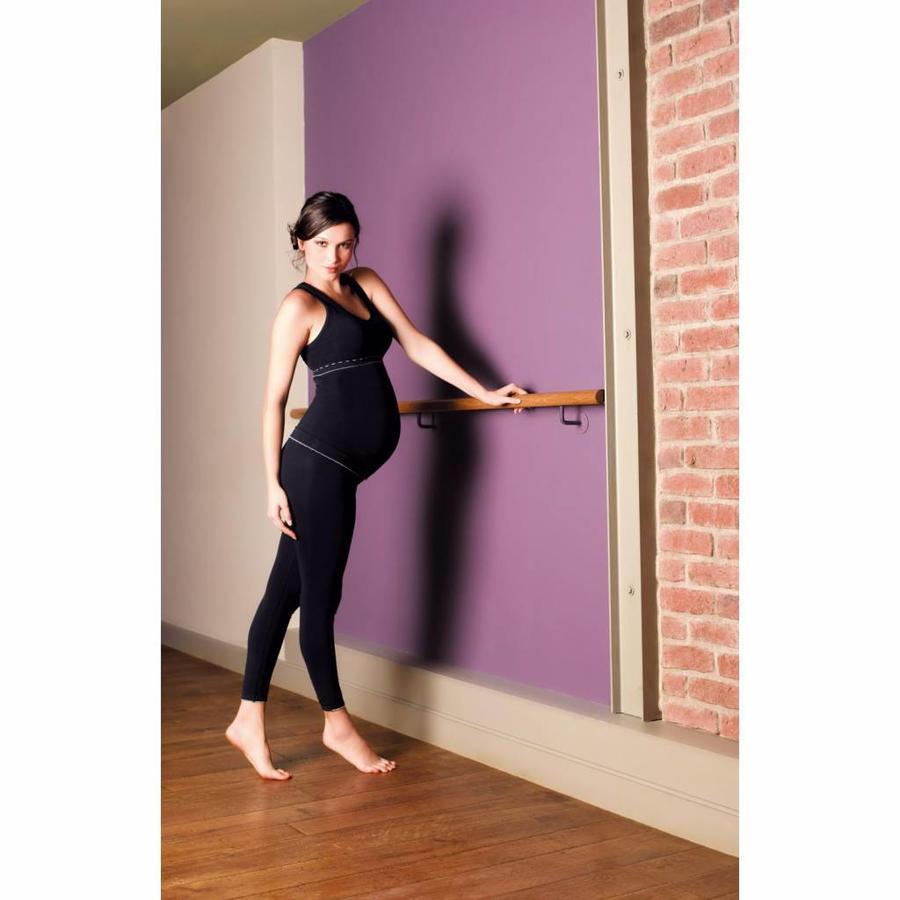 ZwangerschapsLegging Illusion Zwart