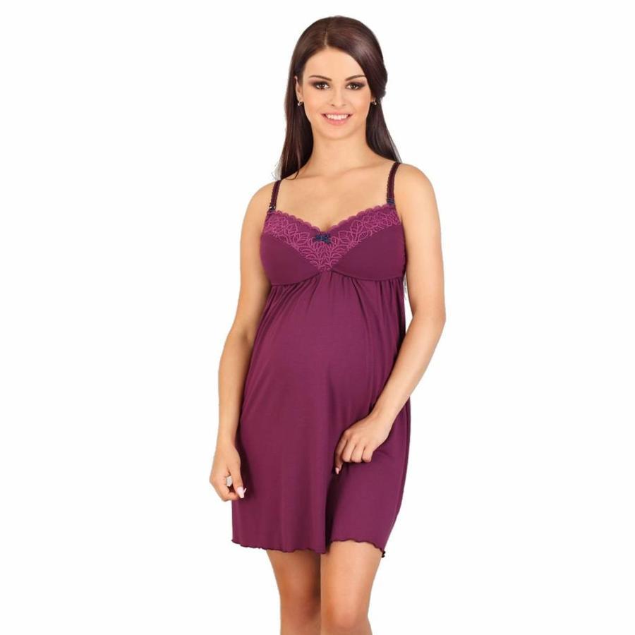 Zwangerschapsjurk / Voedingsjurk Fantasy Purple