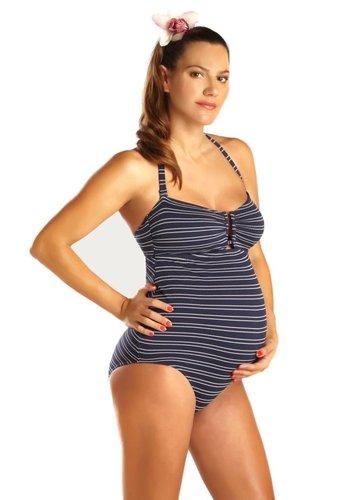 ZwangerschapsBadpak Marine Navy