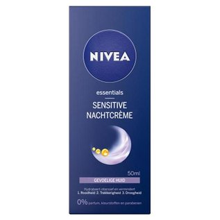 Nivea Essentials Sensitive Nachtcrème