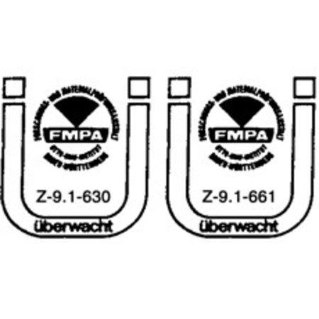 Förch Holzbauschrauben mit Bohrspitze FSK-TX10 GELB 3 X 20
