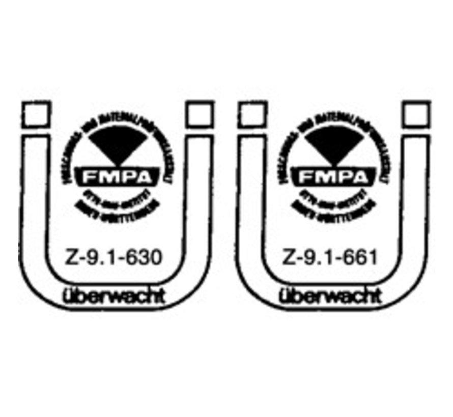 Holzbauschrauben mit Bohrspitze FSK-TX20 GELB 4 X 70