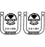 Förch Holzbauschrauben mit Bohrspitze FSK-TX20 GELB 4 X 80