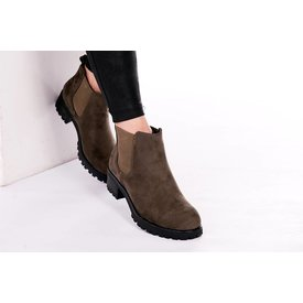 BOOTS JAKE ♥ ARMY GREEN SUEDE
