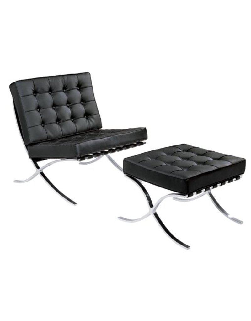 Barcelona chair design seats design stoelen online kopen - Stoel rode huis van de wereld ...
