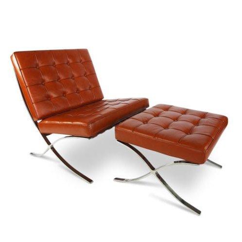 Barcelona chair design seats design stoelen online kopen - Pouf eigentijds ontwerp ...