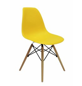 DSW Dining Chair Yellow