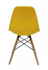 DSW Eames Design Eetkamerstoel Geel