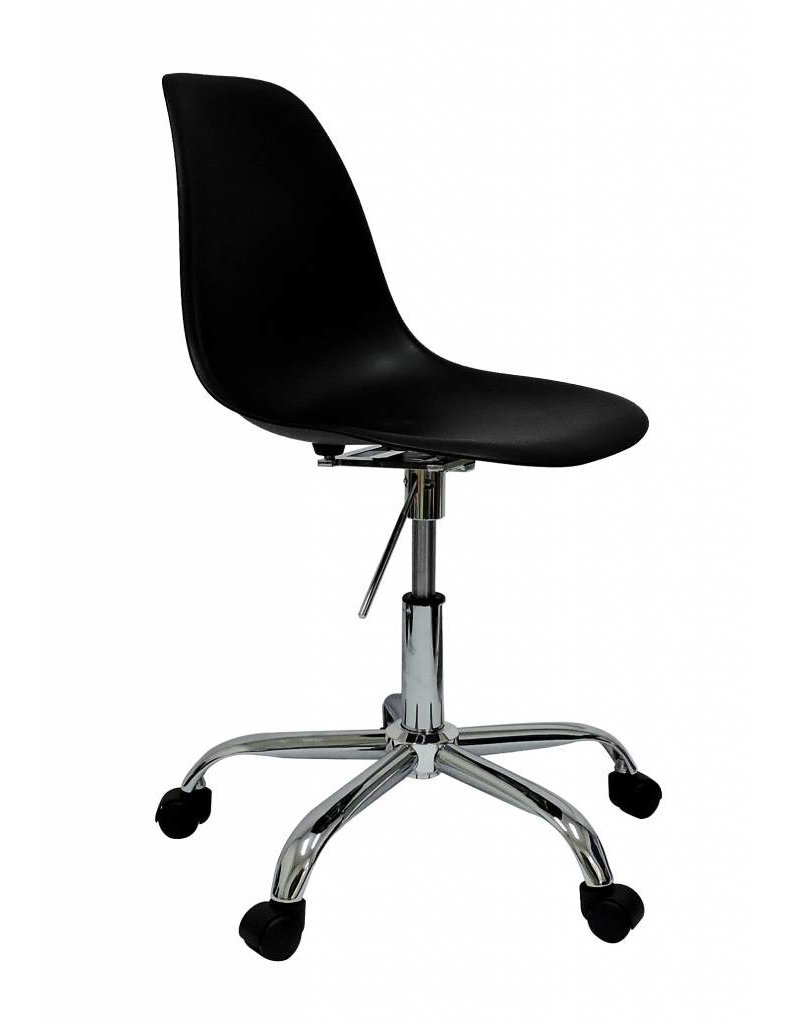 PSCC Eames Design Stoel Zwart