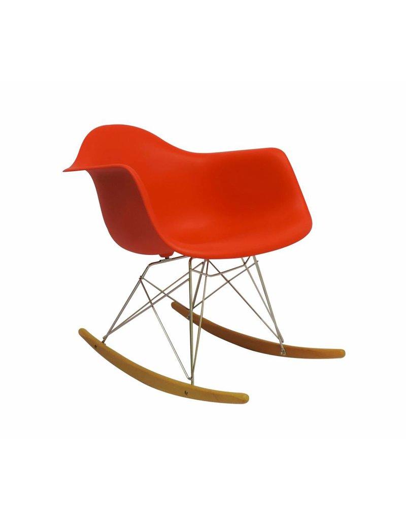 RAR Eames Design Rocking Chair Red