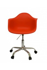 PACC Eames Design Stoel Rood