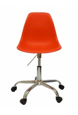 PSCC Eames Design Stoel Rood