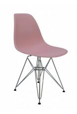 DSR Eames Design Eetkamerstoel Roze