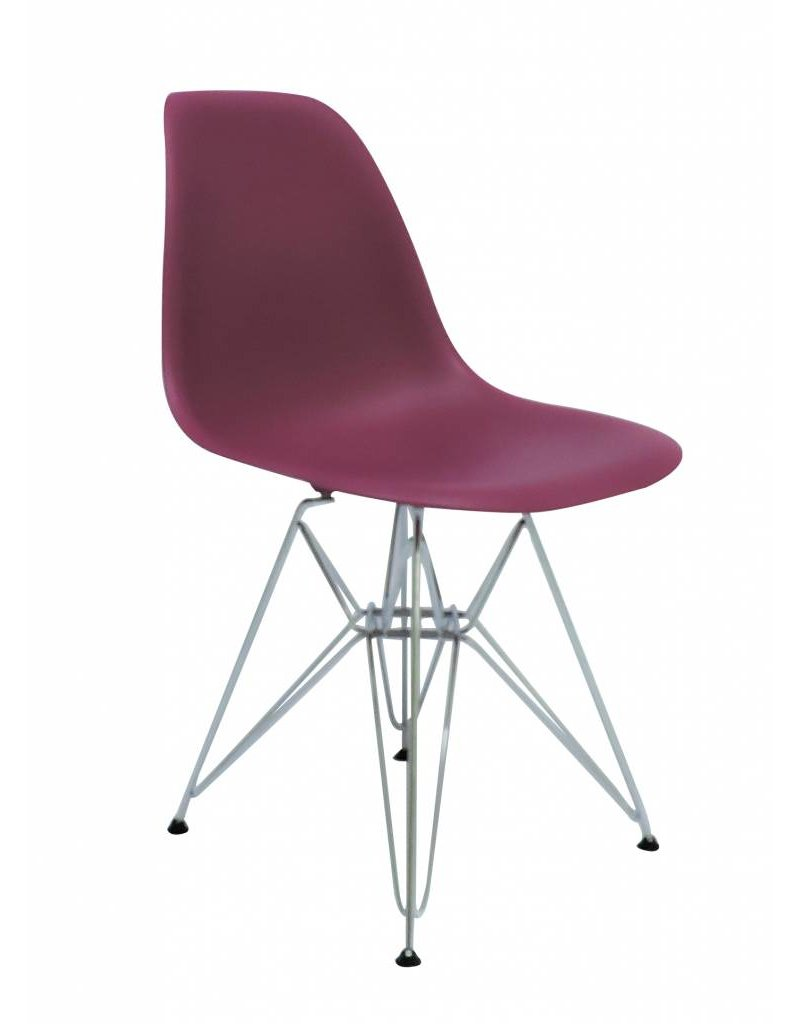 DSR Eames Design Dining Chair Pink