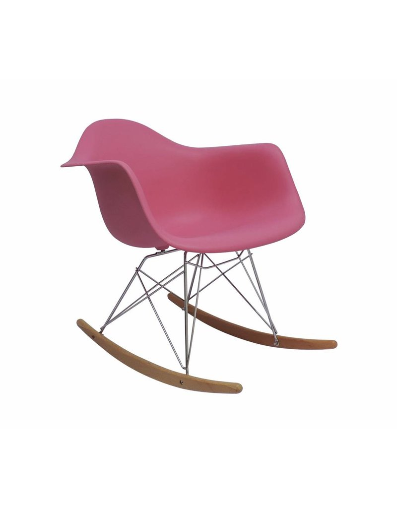 RAR Eames Design Rocking Chair Pink ...