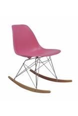 RSR Eames Design Rocking Chair Pink