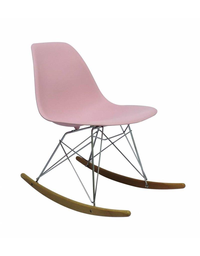 RSR Eames Design Schommelstoel Roze