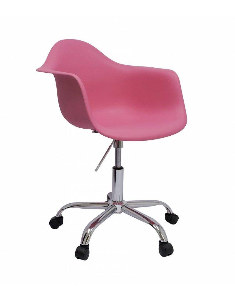 Pacc eames design stoel roze design seats design for Design stoel 24