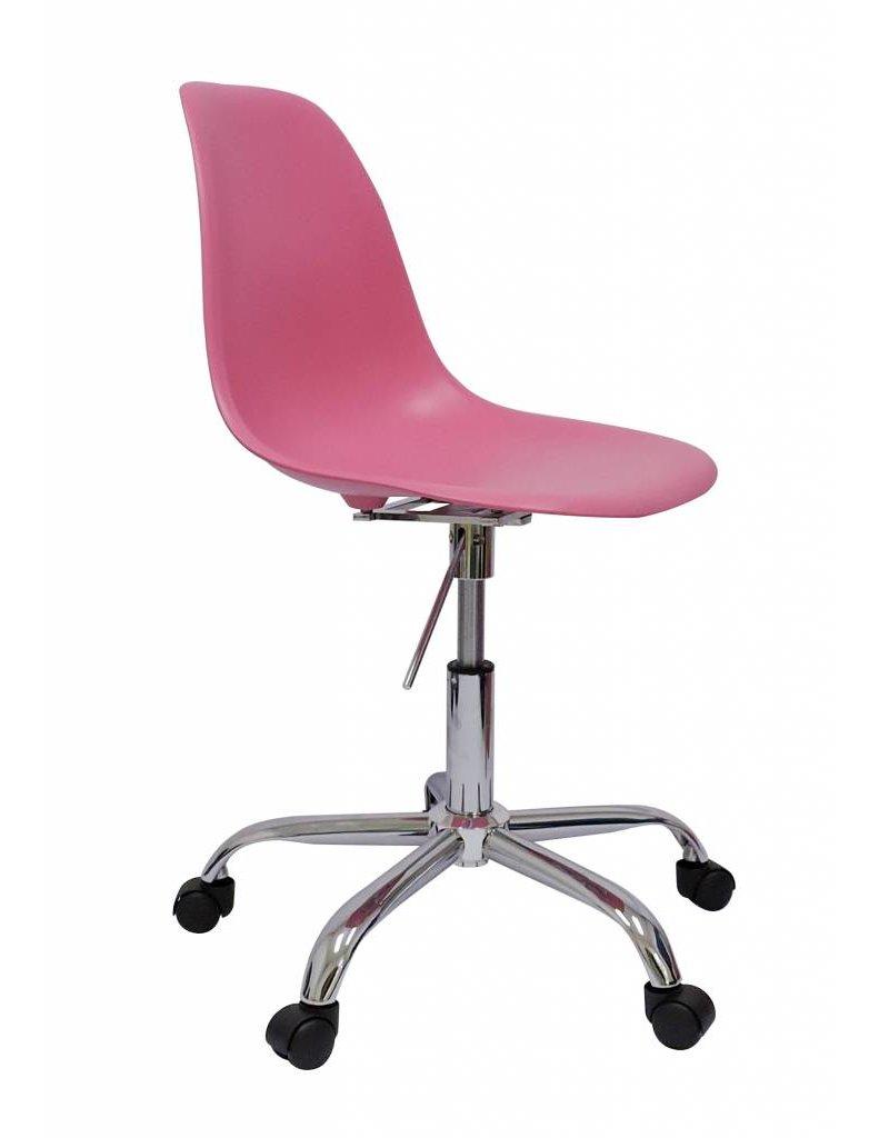 Pscc eames design stoel roze design seats design for Design stoel 24